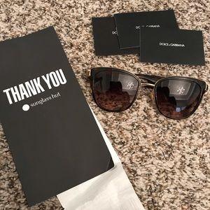 Genuine dolce & gabbana sunglasses cat eye